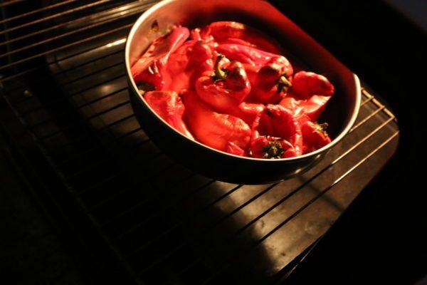 Piperies Florinis - Griechischer Spitzpaprika Salat
