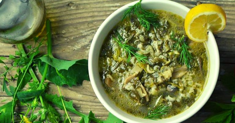 Magiritsa (μαγειρίτσα) - Griechische Ostersuppe vegan