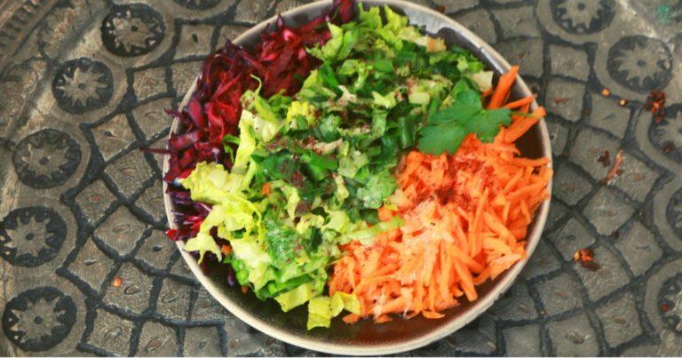 Kış salatası tarifi - Einfacher türkischer Wintersalat